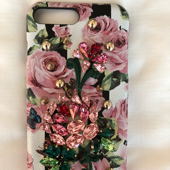 new product 373e8 e7f87 Authentic Dolce & Gabbana iphone 7/8 plus cover NWT